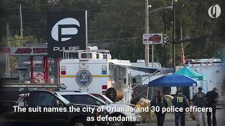Pulse nightclub shooting survivors sue Orlando police