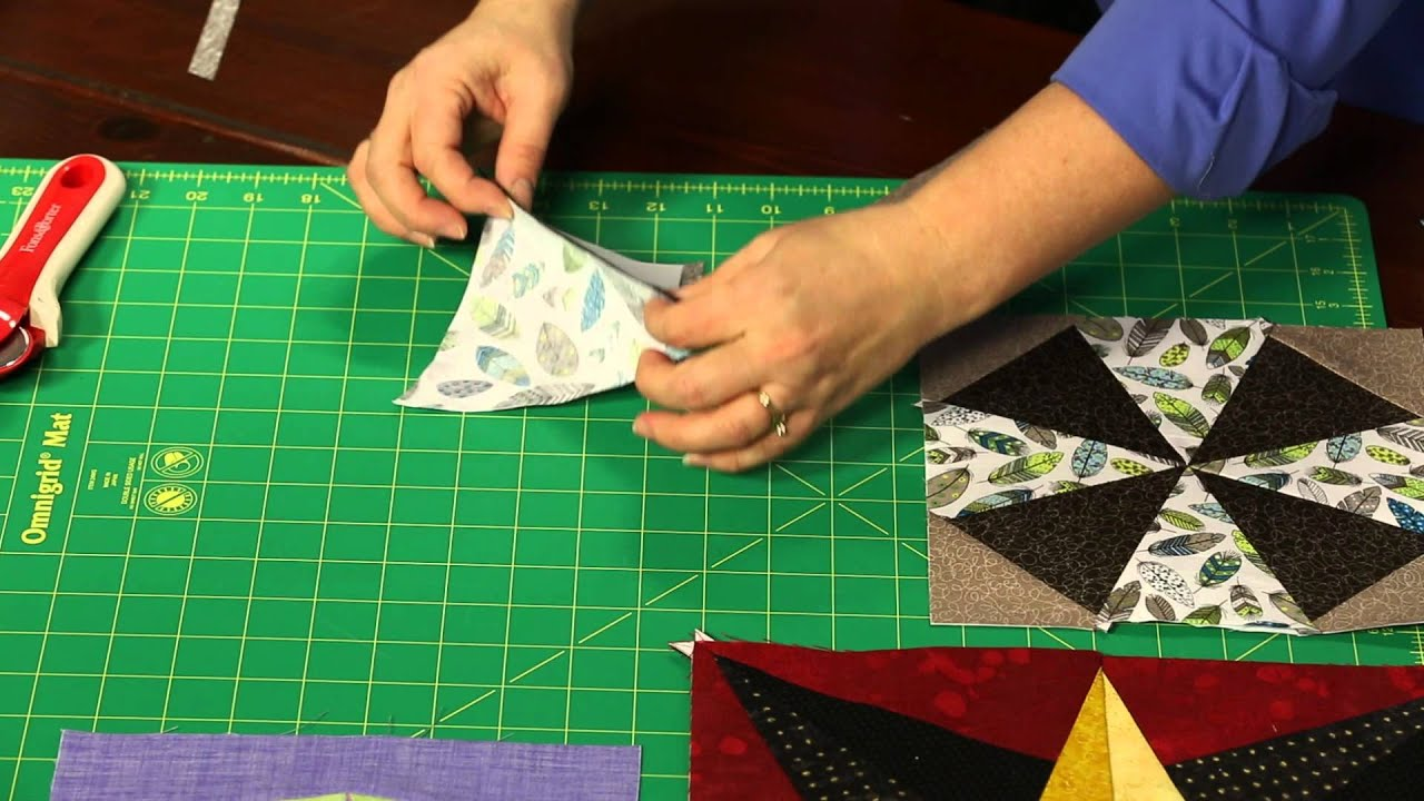 Sew Easy Paper Foundation Piecing Youtube
