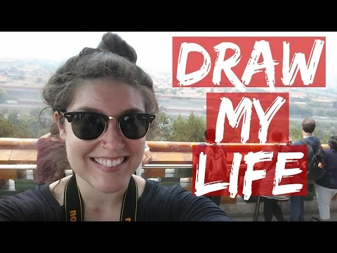 DRAW MY LIFE – American Travel Blogger In China