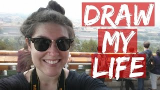 Video DRAW MY LIFE - American Travel Blogger In China download MP3, 3GP, MP4, WEBM, AVI, FLV Januari 2018