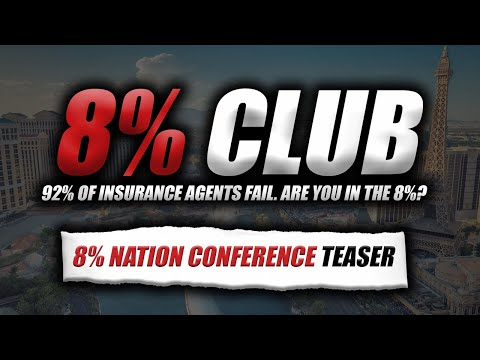 8% Nation Insurance Conference 2020 Teaser! [8% Club LIVE]