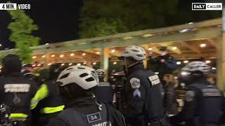 Demonstrators Launch Fireworks at Police And Disrupt Diners in Downtown D.C.