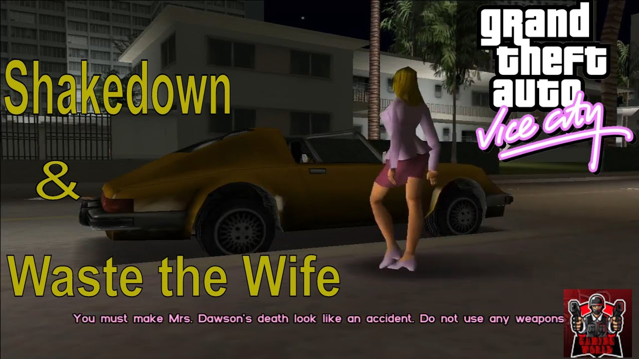 Download GTA - Walkthrough Mission Shakedown & Waste the Wife HD Gameplay Tommy Killed Wife