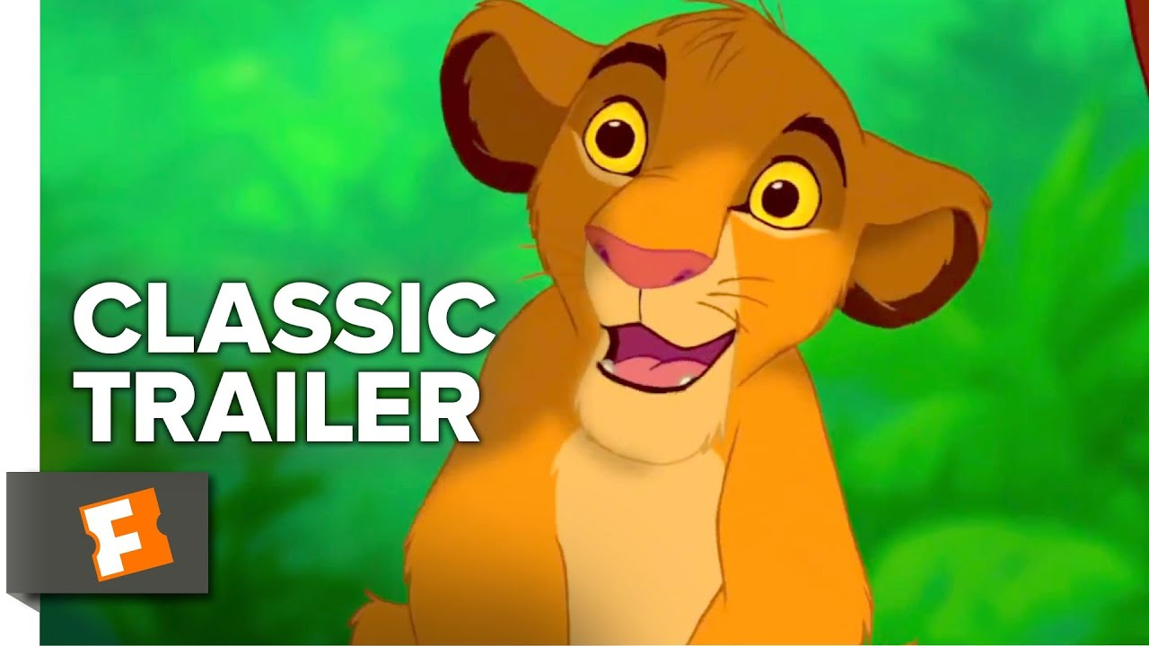 The Lion King 1994 Trailer 1 Movieclips Classic Trailers Youtube