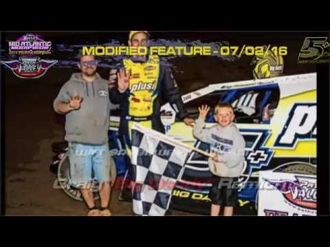 Path Valley Speedway - In-Car Rear Bumper Camera - Feature July 2, 2016