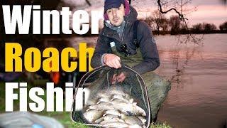 DEEP WINTER ROACH FISHING MORE NEW PB s