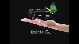 Jvc Everio G series ad 2006