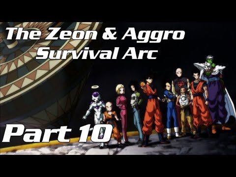 Zeon & Aggro Survival Arc: Tenshinhan Jobs... because of course he does