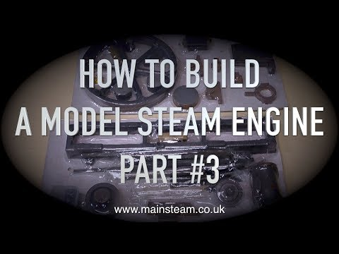 HOW TO BUILD A MODEL STEAM ENGINE - STUART MODELS VICTORIA - PART #3 - CLEANING UP THE FLYWHEEL