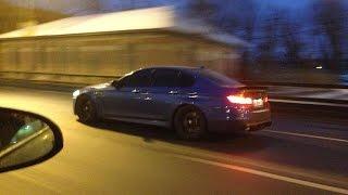 BMW M5 F10 наказывает SRT