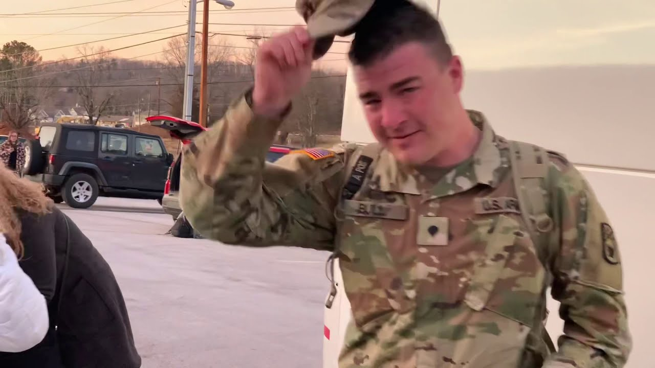 Welcome Home From  A Year Long Deployment!