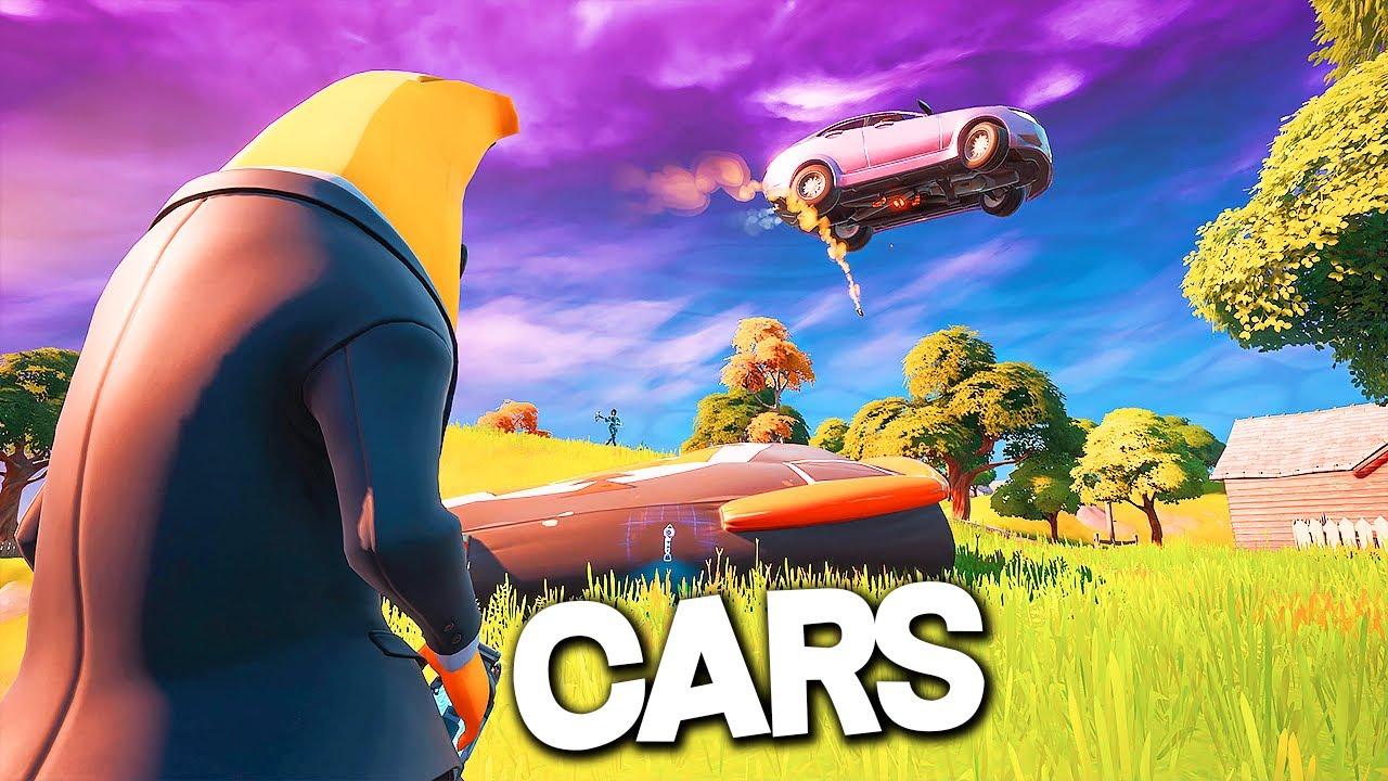 CARS CARS CARS! - Fortnite