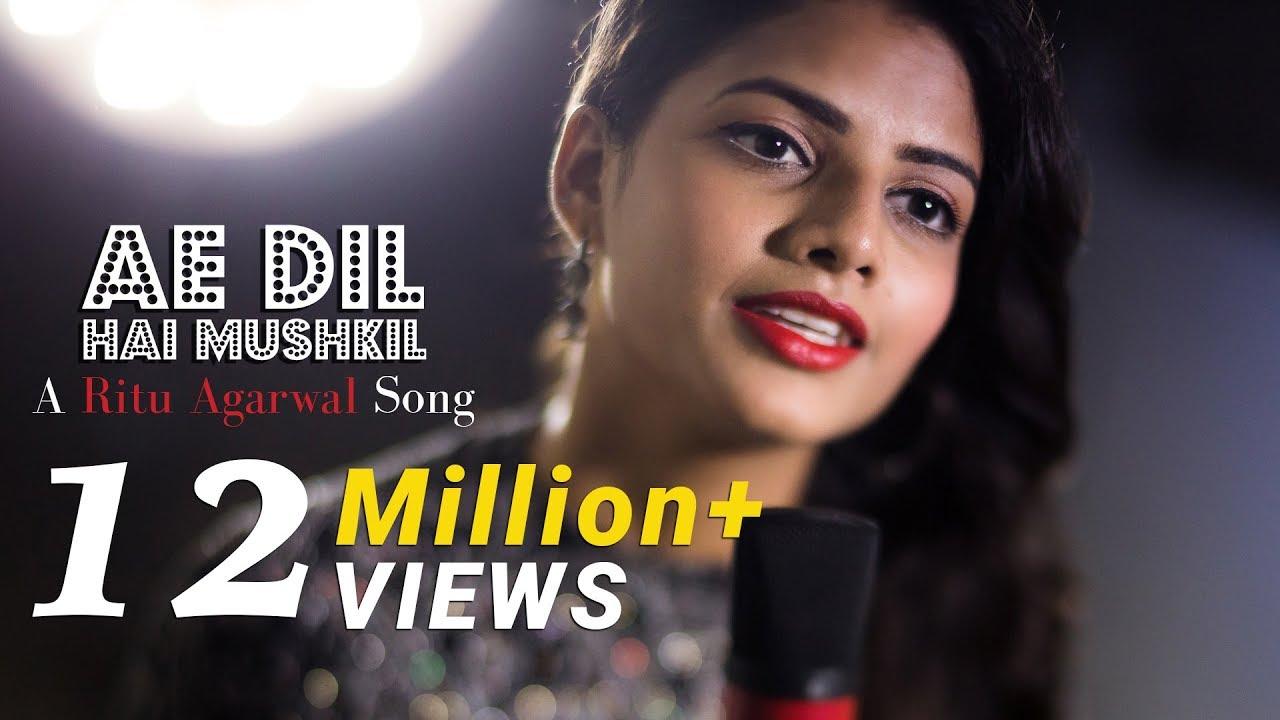 Ae Dil Hai Mushkil - Female Cover Version By @VoiceOfRitu | Karan Johar | Ranbir Kapoor