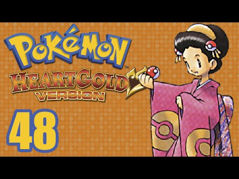 Pokemon HeartGold (Blind) -48- Blackthorn City scares me