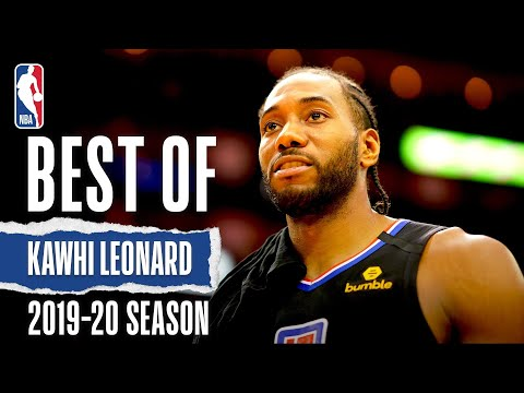 Best Of Kawhi Leonard | 2019-20 NBA Season
