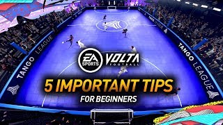 FIFA 20 VOLTA TIPS & TRICKS! BEGINNERS GUIDE TO VOLTA!
