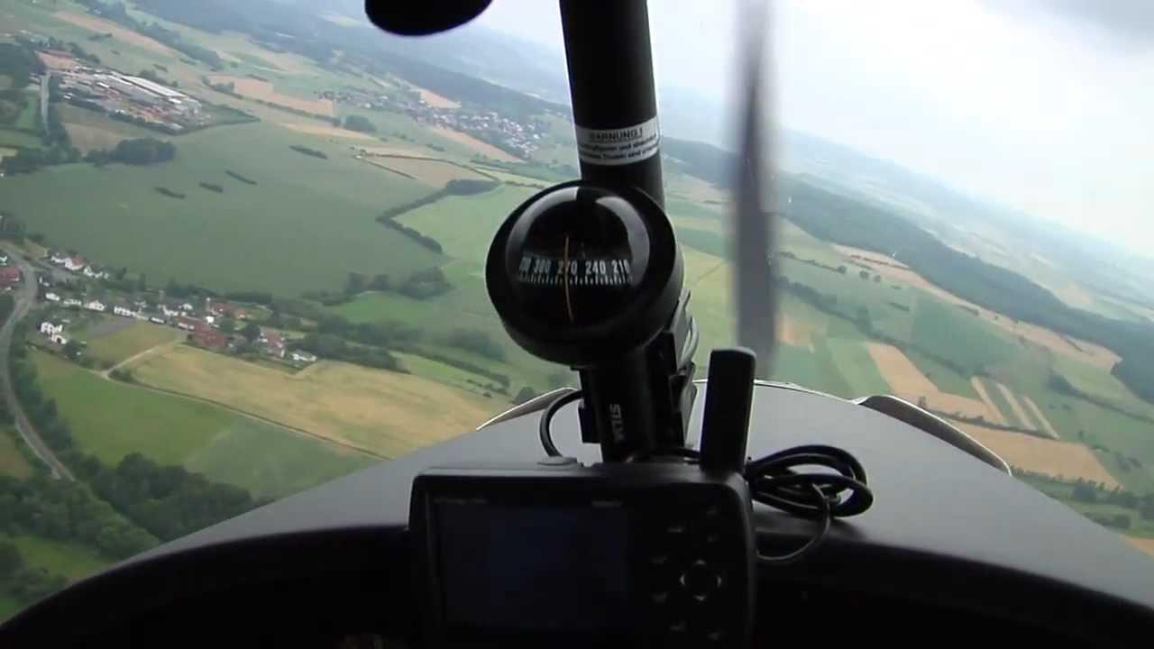 Testflug Comco Ikarus C 42 Mit Gopro Hd Hero Als Außenkamera Youtube