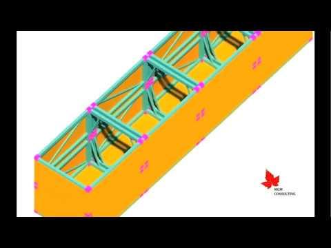 Modular Multifunctional ISO Pontoon/Barge 3D Model Concept