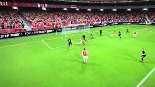FIFA 16 Desperate Arsenal AI (Weird Header)
