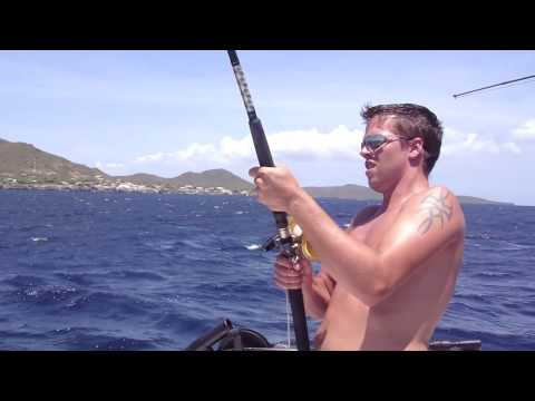30 kg Tuna @ Big Game Fishing Curacao (HD)