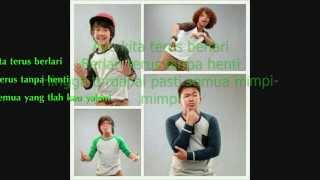 Coboy Junior - Terus Berlari Lyrics (CJRTM) ♥♥♥