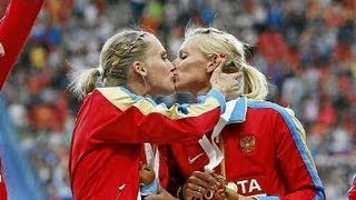 Kiss was not a protest, Kseniya Ryzhova said.