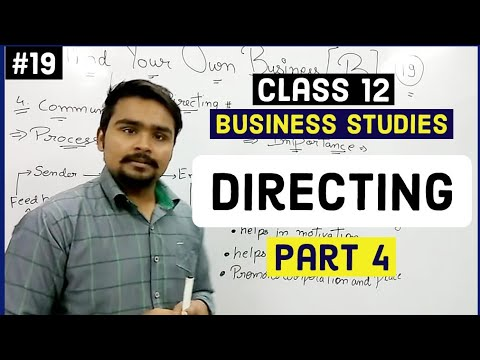 #19, Communication | Formal  | Informal | Structure | Class 12 Business