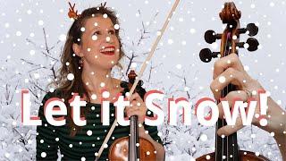 Frank Sinatra LET IT SNOW Play Along Violin Tutorial