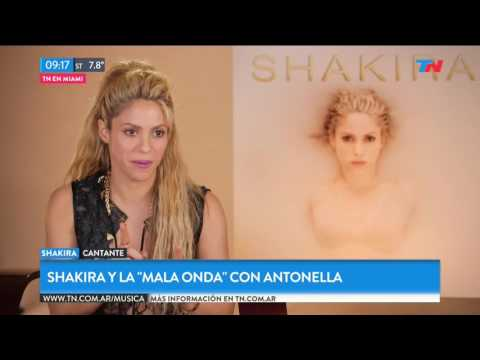 Shakira y la 'mala onda' con Antonella