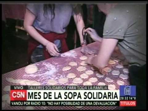 C5N - Sociedad: Mes de la sopa solidaria