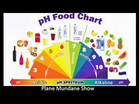 HIgh pH Diet - Healthy Higher Blood pH - Food List - Plane Mundane Show