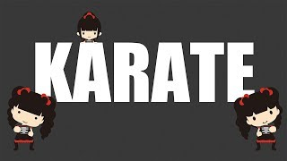 BABYMETAL Yui-metal Moa-metal のカラテのダンス動画をフラッシュアニ...