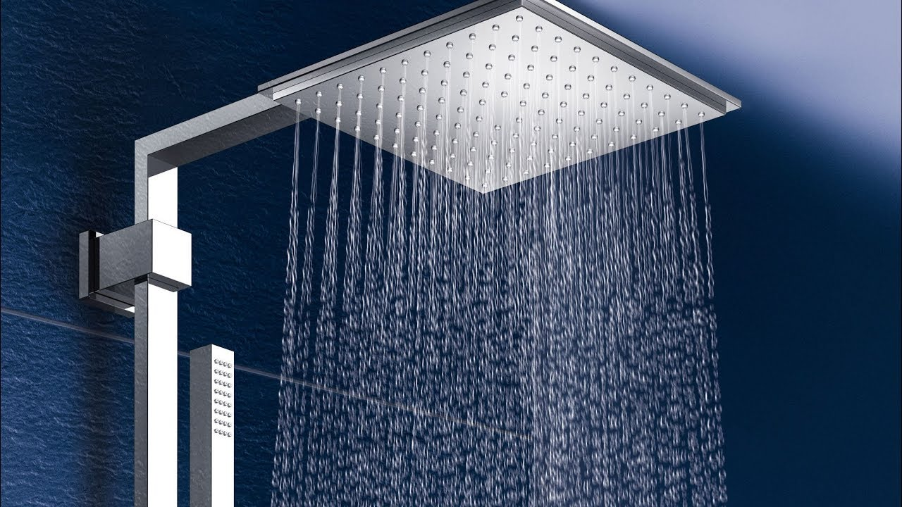 Grohe Euphoria Cube XXL System 230 Shower System With Thermostatic Mixer