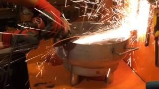 Mutfak Tüpünden mangal (barbekü) yapımı