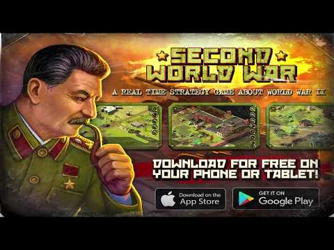 Second Word War, mobile RTS game!