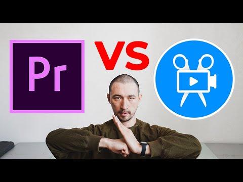 В какой программе лучше монтировать видео? 🏆Adobe Premiere Pro VS Видеоредактор Movavi Плюс 2020