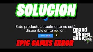 GTA V Gratis SOLUCION DE LOS 2 ERRORES ( Funciona ) EPIC GAMES ERROR