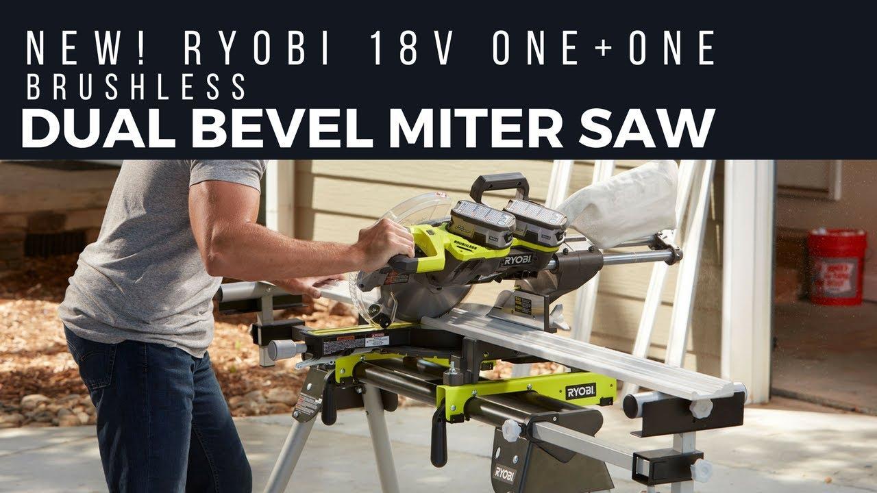 Ryobi Cordless Sliding Miter Saw Review - One Plus One Equals 36