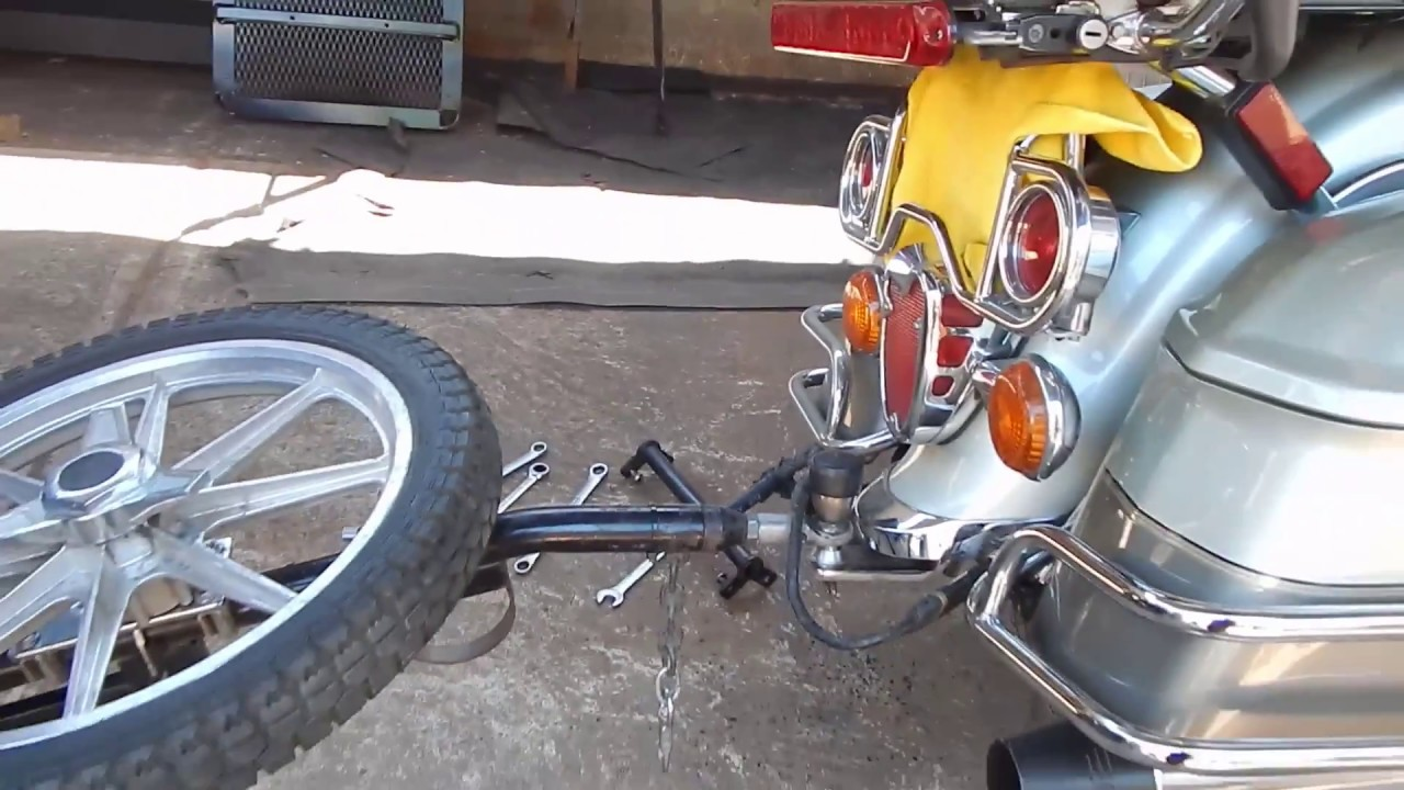 Yamaha Royal Star Venture Bushtec Tow Hitch Installation Youtube Wiring Harness