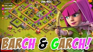 Clash of Clans Barch & Garch Attacks! Clash of Clans Town Hall 7 Farming!