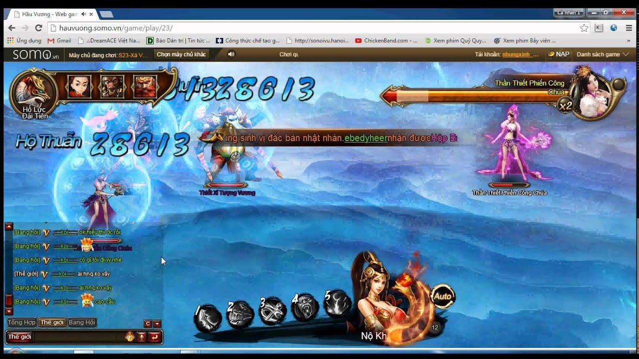 Hầu Vương – game PRG