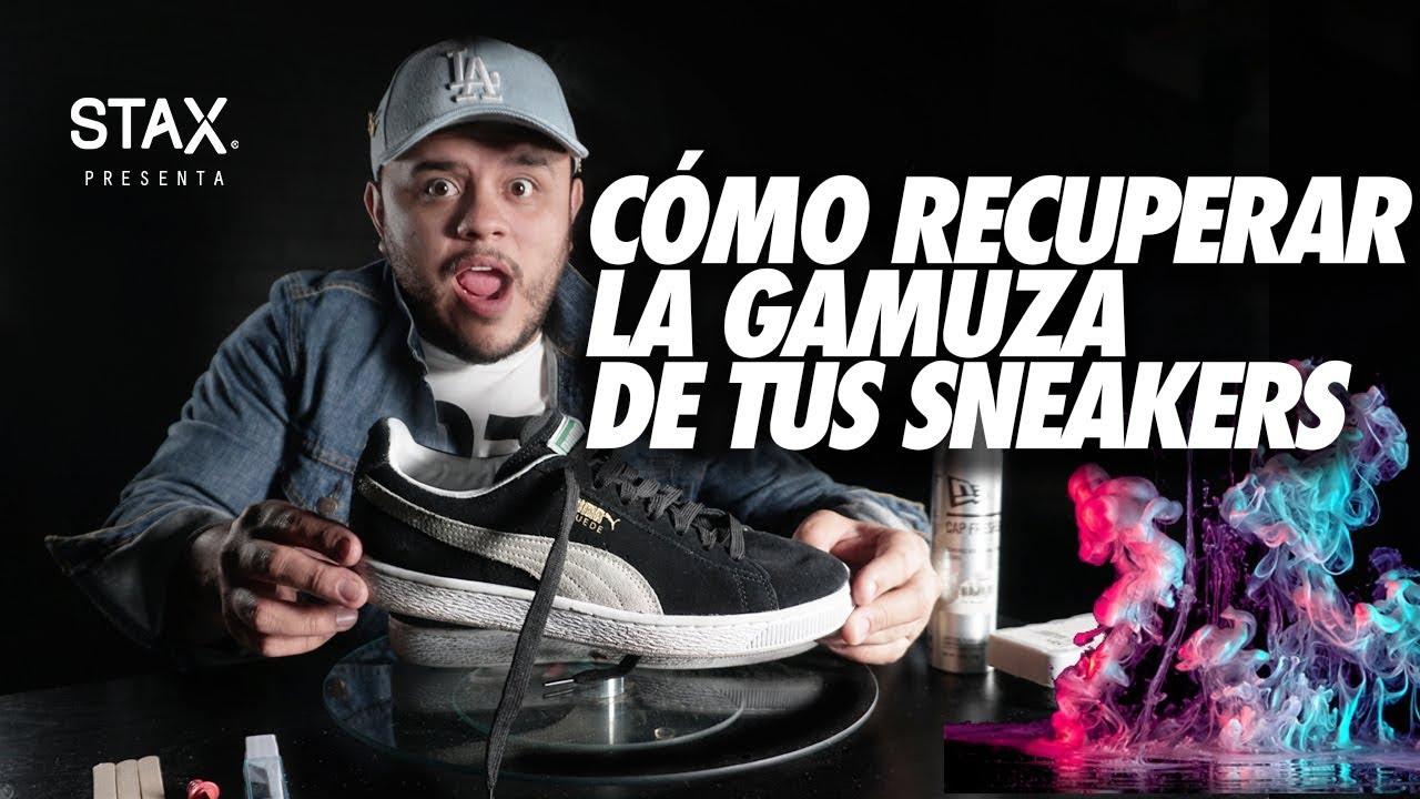 Cómo recuperar la gamuza de tus zapatillas manera La mejor manera zapatillas YouTube 092a4f