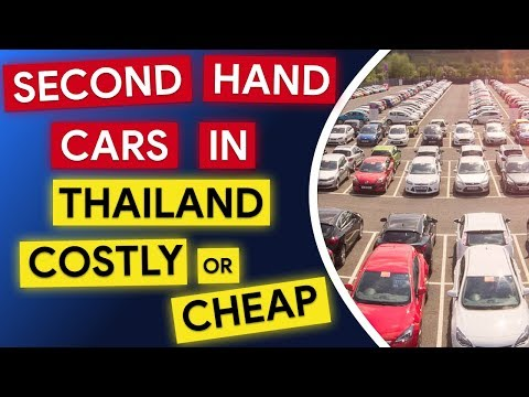 Second Hand Cars In Thailand