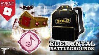 [EVENT ENDED!] How to get the Battle Crown, Solo Branded Backpack | Roblox EBG