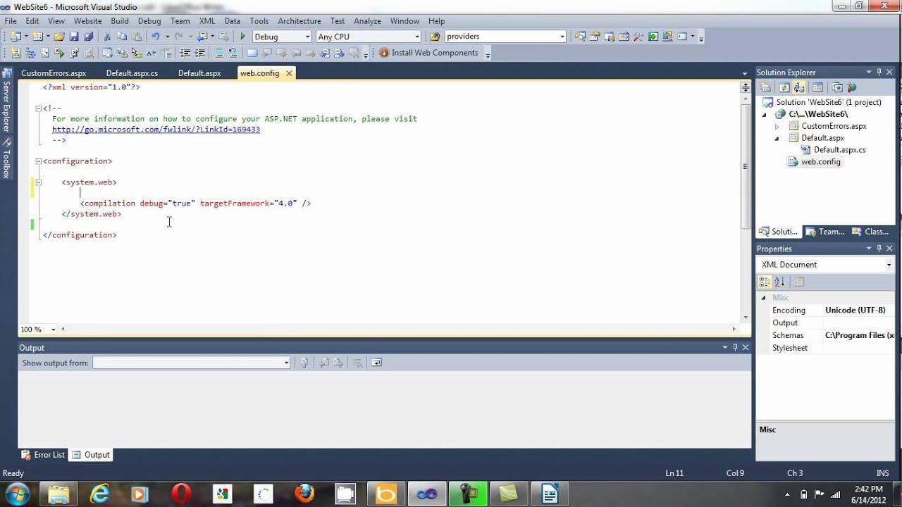 ASP NET Configuration: Enable Custom Errors