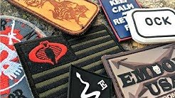 The Grey Man, Velcro and Morale Patches