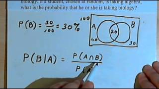 Conditional Probability, part 1 128-1.8.a