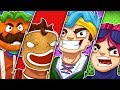 THE NO KILL 4 CORNERS CHALLENGE w/ Ninja, Dr Lupo, and CourageJD! -  Fortnite Battle Royale