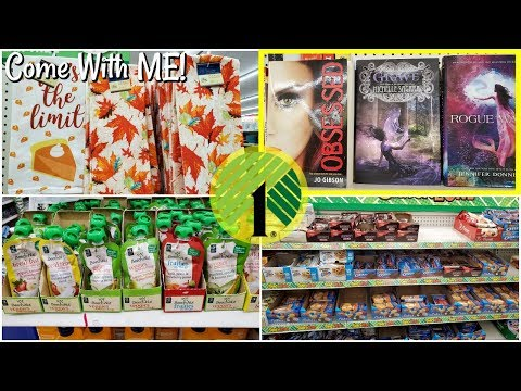 Dollar Tree shopping * come with me 2019  OCTOBER 2019