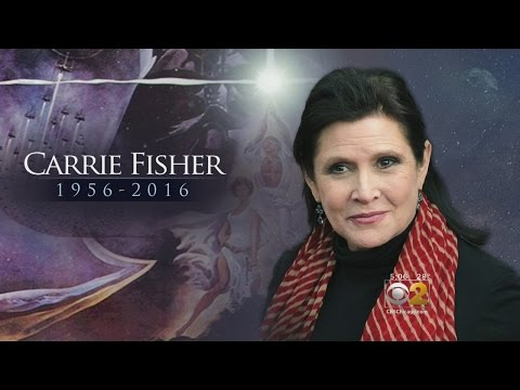 Star Wars Actress, Carrie Fisher, Dies At Age 60